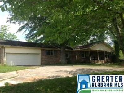 Pell City Single Family Home For Sale: 19474 Hwy 231