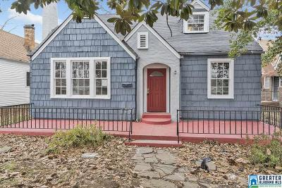 Birmingham Single Family Home For Sale: 1532 42nd St W