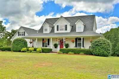 Clay County, Cleburne County, Randolph County Single Family Home For Sale: 15195 Co Rd 87