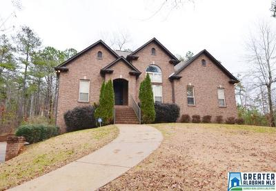 Pell City Single Family Home For Sale: 1785 Funderburg Bend Rd