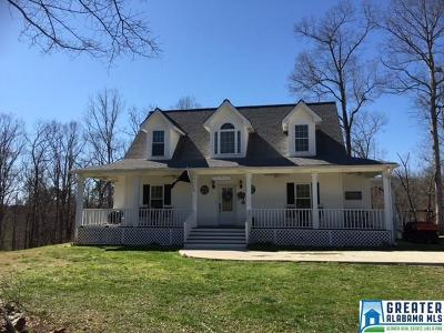 Clay County, Cleburne County, Randolph County Single Family Home For Sale: 861 Co Rd 47