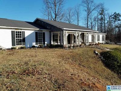 Clay County, Cleburne County, Randolph County Single Family Home For Sale: 330 Co Rd 65