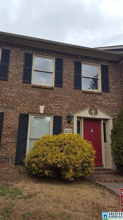 Hoover Condo/Townhouse For Sale: 632 Mountain Laurel Ct