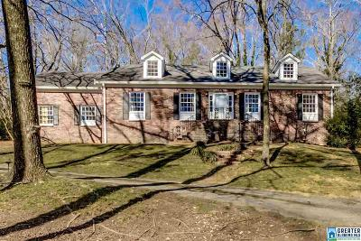 Mountain Brook AL Single Family Home For Sale: $429,000