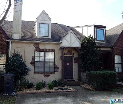 Hoover AL Condo/Townhouse For Sale: $185,000