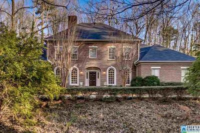 Mountain Brook Single Family Home For Sale: 3537 Brookwood Rd