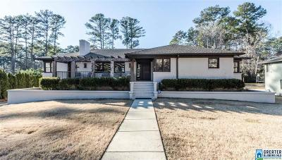 Mountain Brook Single Family Home For Sale: 114 Richmar Dr