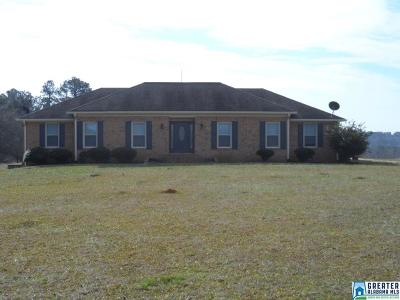 Clay County, Cleburne County, Randolph County Single Family Home For Sale: 1564 Co Rd 633