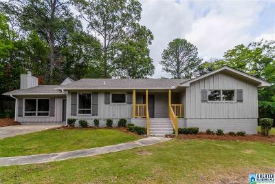 Vestavia Hills Single Family Home For Sale: 1624 Linda Vista Ln