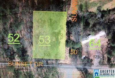 Weaver Residential Lots & Land For Sale: Sunset Dr