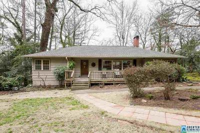 Homewood AL Single Family Home For Sale: $384,500