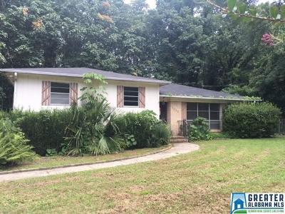 Fultondale, Gardendale Single Family Home For Sale: 3013 Lisa Ln