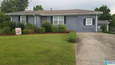 Birmingham AL Single Family Home For Sale: $78,800