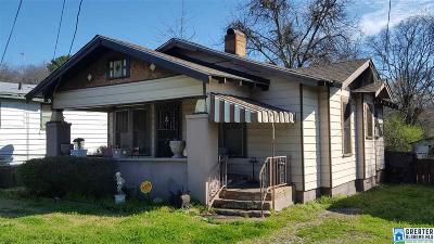 Birmingham AL Single Family Home For Sale: $34,900