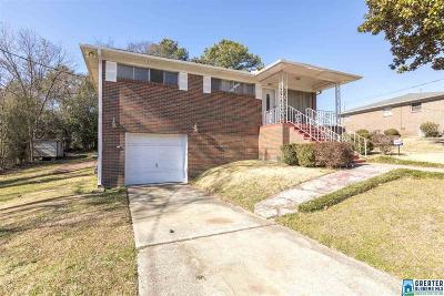 Birmingham AL Single Family Home For Sale: $95,000
