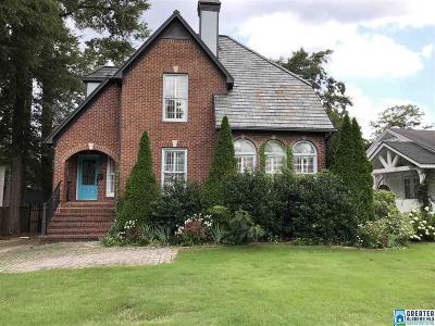 Homewood AL Single Family Home For Sale: $700,000