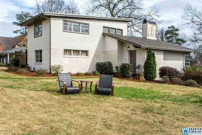 Vestavia Hills Single Family Home For Sale: 2105 Hickory Rd