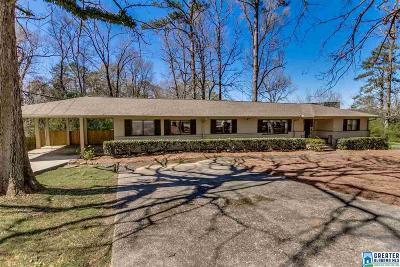 Vestavia Hills Single Family Home For Sale: 4456 Dolly Ridge Rd