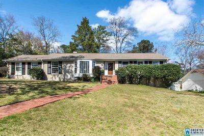 Mountain Brook AL Single Family Home For Sale: $439,000
