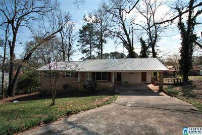 Anniston Single Family Home For Sale: 3912 Sherwood Ave