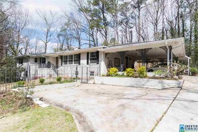 Homewood Single Family Home For Sale: 400 Lakewood Dr