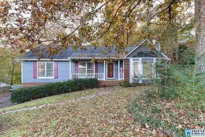 Hoover Single Family Home For Sale: 6148 Valley Station Dr