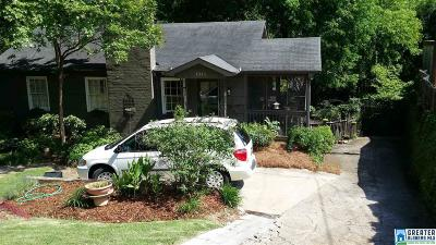Birmingham AL Single Family Home For Sale: $289,900