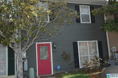 Alabaster Condo/Townhouse For Sale: 1592 King James Dr