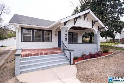 Birmingham Single Family Home For Sale: 729 39th St S