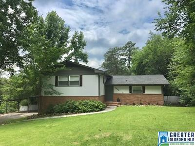 Hoover Single Family Home For Sale: 1306 Columbia Dr