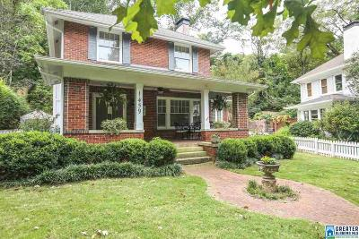 Birmingham AL Single Family Home For Sale: $509,000