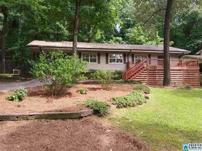 Vestavia Hills Single Family Home For Sale: 1829 Old Creek Trl