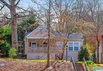 Birmingham Single Family Home For Sale: 1113 Green Springs Ave
