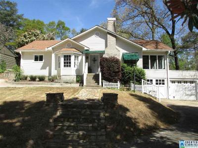 Homewood Single Family Home For Sale: 3519 Ashley Rd