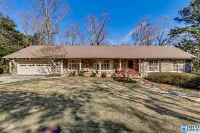 Vestavia Hills Single Family Home For Sale: 225 Vestavia Cir