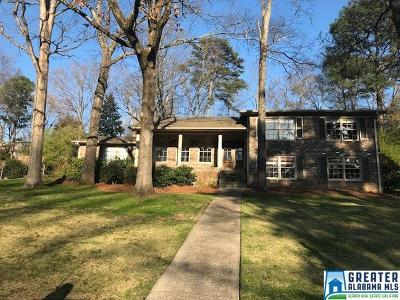 Vestavia Hills Single Family Home For Sale: 2601 Vestavia Forest Terr