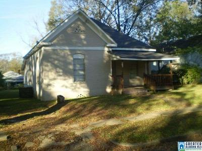 Birmingham Single Family Home For Sale: 2520 17th St