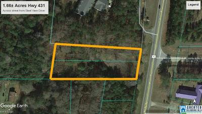 Residential Lots & Land For Sale: Hwy 431