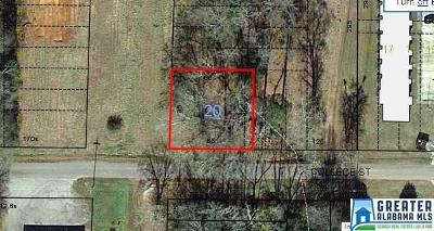 Clay County Residential Lots & Land For Sale: College St