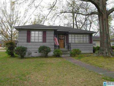 Homewood AL Single Family Home For Sale: $329,900