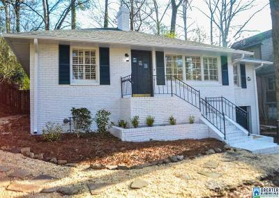 Homewood AL Single Family Home For Sale: $389,999