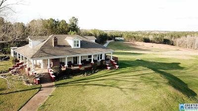 Calhoun County, Chambers County, Clay County, Cleburne County, Coosa County, Randolph County, Talladega County, Tallapoosa County Farm For Sale: 2836 Co Rd 43