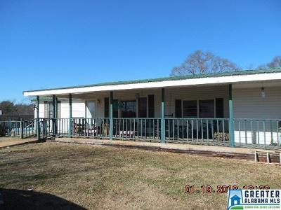 Clay County, Cleburne County, Randolph County Single Family Home For Sale: 834 Co Rd 233