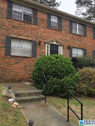 Vestavia Hills Condo/Townhouse For Sale: 2040-B Montreat Cir #B