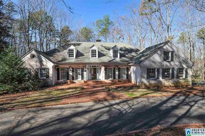 Birmingham AL Single Family Home For Sale: $849,900