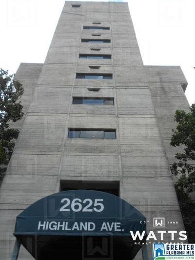 Birmingham, Homewood, Hoover, Irondale, Mountain Brook, Vestavia Hills Rental For Rent: 2625 Highland Ave #505
