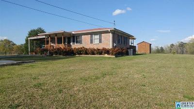 Pell City Single Family Home For Sale: 3208 Stemley Bridge Rd
