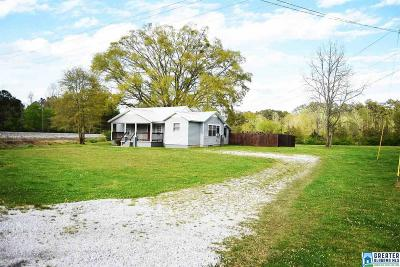 Anniston Single Family Home For Sale: 2474 Old Choccolocco Rd