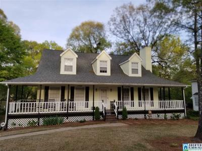 Alabaster Single Family Home For Sale: 618 Olde Towne Way
