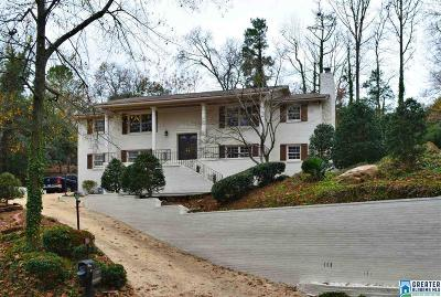 Homewood AL Single Family Home For Sale: $499,900